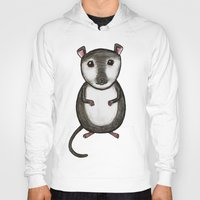 gemma correll Hoodies featuring Gemma the Gerbil by Studio 8107