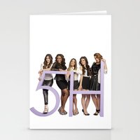 fifth harmony Stationery Cards featuring fifth harmony best design home decoration ideas by customgift