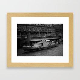 Hamburg Coastguard Framed Art Print