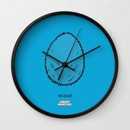Blue Egg Wall Clock