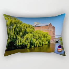 Historic Flour Mill. Rectangular Pillow
