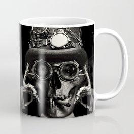 Steampunk Skull Gothic Victorian Horror Art Coffee Mug