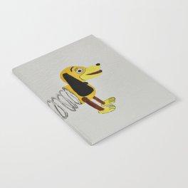 Slinky Dog Notebook