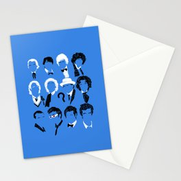 Twelve Doctors Stationery Cards
