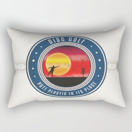 Putt Plastic In Its Place Rectangular Pillow