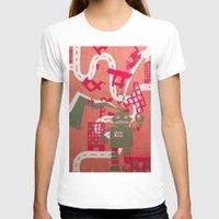 robot T-shirts featuring Robot by Jan Luzar