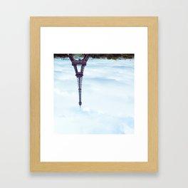 KEEP IT UPSIDE DOWN PLEASE. Framed Art Print