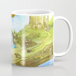 Flying On Polly Over an Enchanted Land Coffee Mug
