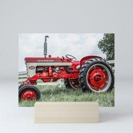 International Harvester 240 Side View Mini Art Print