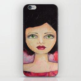 Bella SASS Girl - Cyndi - SASS = STRONG and SUPER SMART iPhone Skin