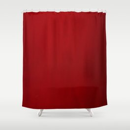 Color gradient 02012019 red Shower Curtain