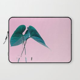 Pink Plant Laptop Sleeve