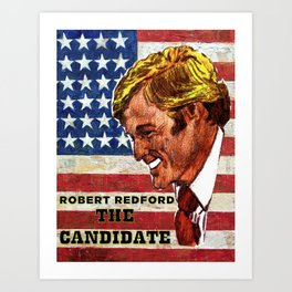 The Candidate Art Print