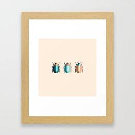 June Bugs Framed Art Print