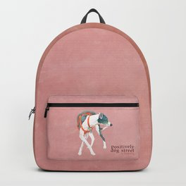 Italian Greyhound Backpack