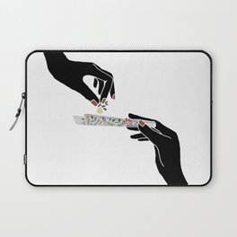 Flower roll / Illustration Laptop Sleeve