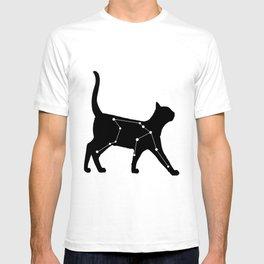 Aquarius Cat T-shirt