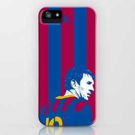 Messi Barcelona iPhone Case