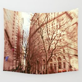 Autumn in New York Wall Tapestry