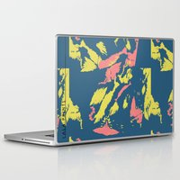 camo Laptop & iPad Skins featuring Bright Camo by lalaprints
