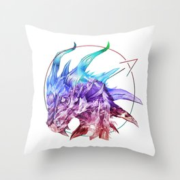Spirt of the Dragon Throw Pillow