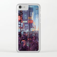 Blade Runner Harrison Ford Clear iPhone Case