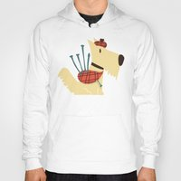 terrier Hoodies featuring Scottish  Terrier - My Pet by Picomodi