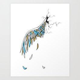 Broken Wing Art Print