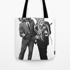 The Made Us Detectives (1979) Monochrome Tote Bag