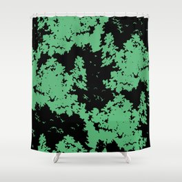 Song of nature - Night Shower Curtain