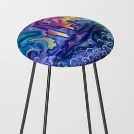 Chicago Bubbles Counter Stool