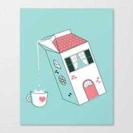 Housepour Canvas Print