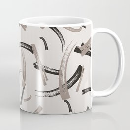 Brush Stripes Coffee Mug