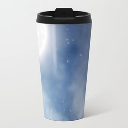 Night sky moon Travel Mug