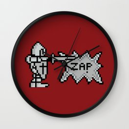 8 bit Zap Wall Clock