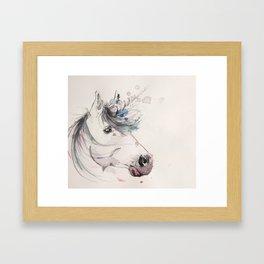 Unicorn 2 Framed Art Print
