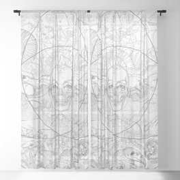New Nature Sheer Curtain