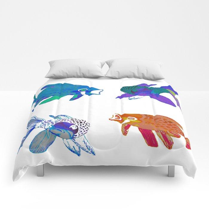 Koi Mash Up Comforters