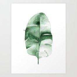 Banana Leaf no. 6 Art Print