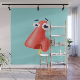 Funny Runny Nose Health Humor Wall Mural