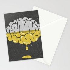 liquefy brain Stationery Cards