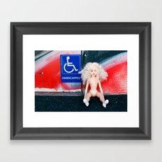 Handicapped Framed Art Print
