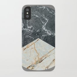 Water Meets Marble iPhone Case