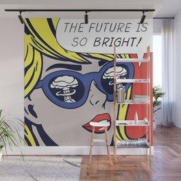Pop Optimistic Girl Wall Mural