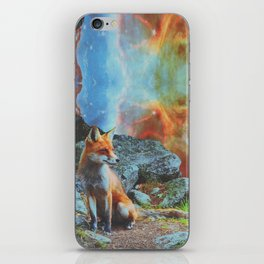 Space Fox iPhone Skin