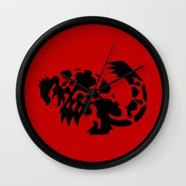 Omega Ruby - Primal Groudon Wall Clock