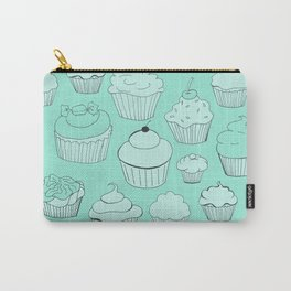 Minty Green Cupcakes! Carry-All Pouch