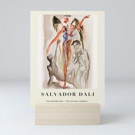 """Poster-Salvador Dali-The Exhibition """"The Divine comedy"""" 2. Mini Art Print"""