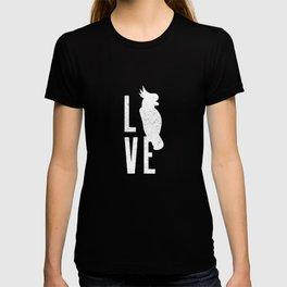 Bird Native birds songbird cockatoo gift T-shirt