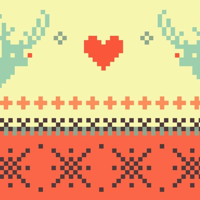 Holiday Pixels Leggings